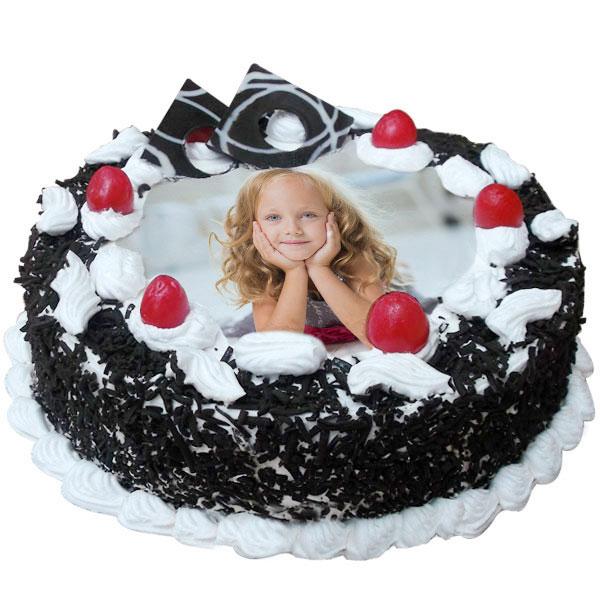 Black Forest photo cake 1kg