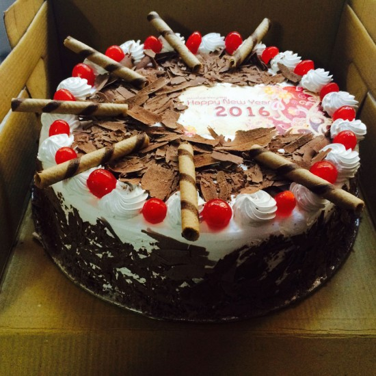 Chocolate Cherry Designer Black Forest Cake Delivery In Delhi