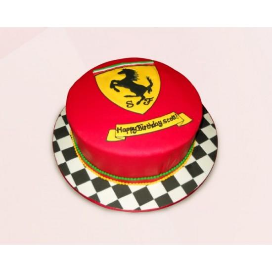 Ferrari Cake foundant