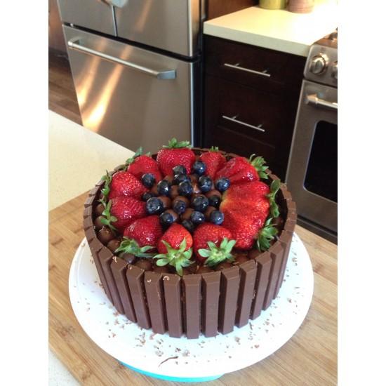 25 Chocolate Fruit Cake