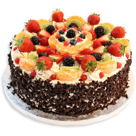 50 Chocolate Fruit Cake