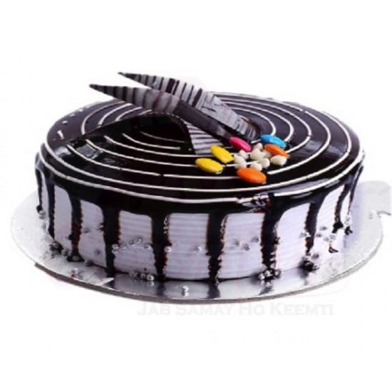 Choco Vanilla gems 1/2 kg cake