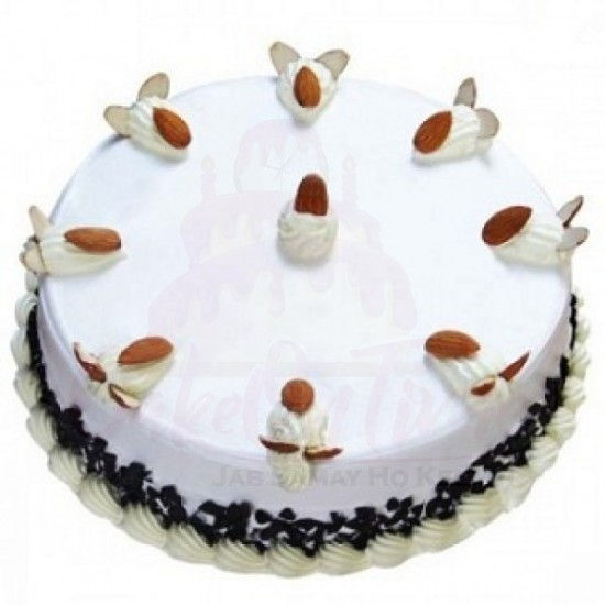 Black Forest Almond Cake