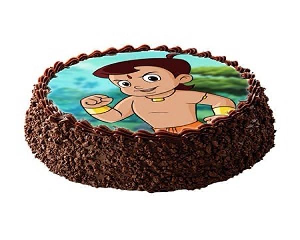 Chota Bheem Choco cake 1kg