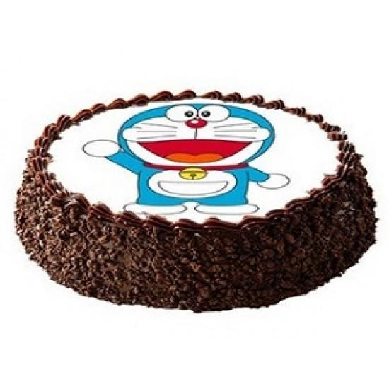 Doraemon Chocolate photo cake  1kg