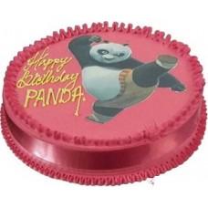 Kungfu panda photo cake 1kg