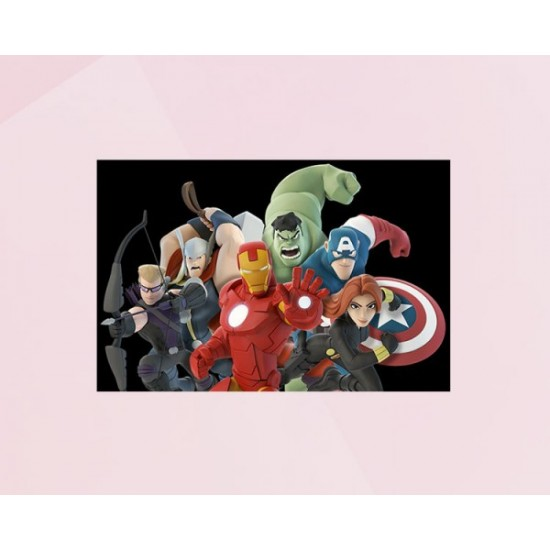 Avengers cool photo cake