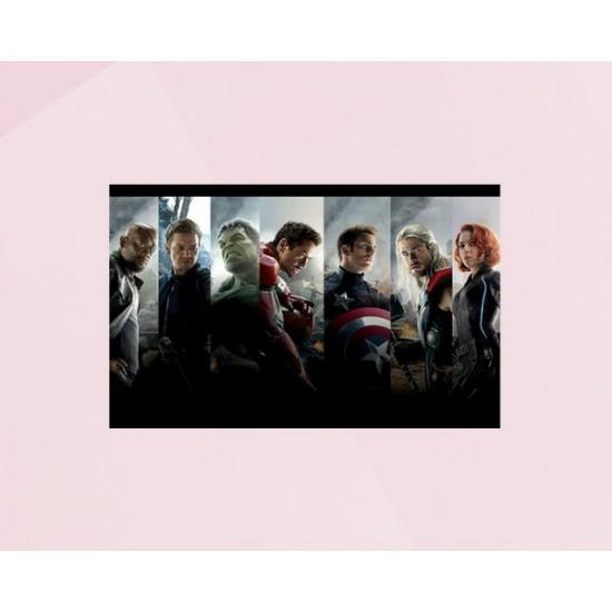 Avengers team photo cake