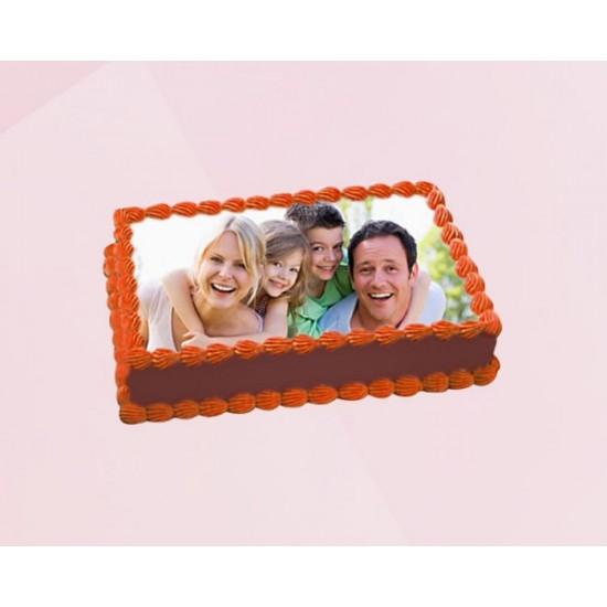 Choco photo cake