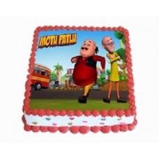 Motu Patlu Photo Cake